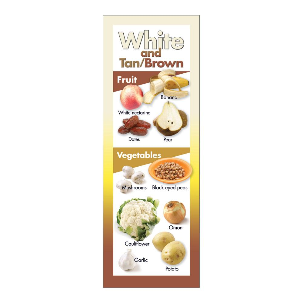 Fruits and Vegetables by Color | White Brown