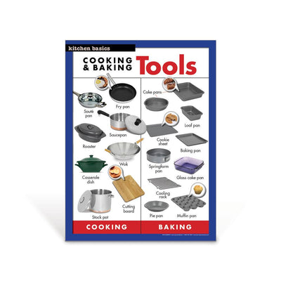 Cooking & Baking Tools Poster