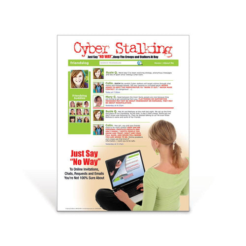 Cyber Stalking Poster