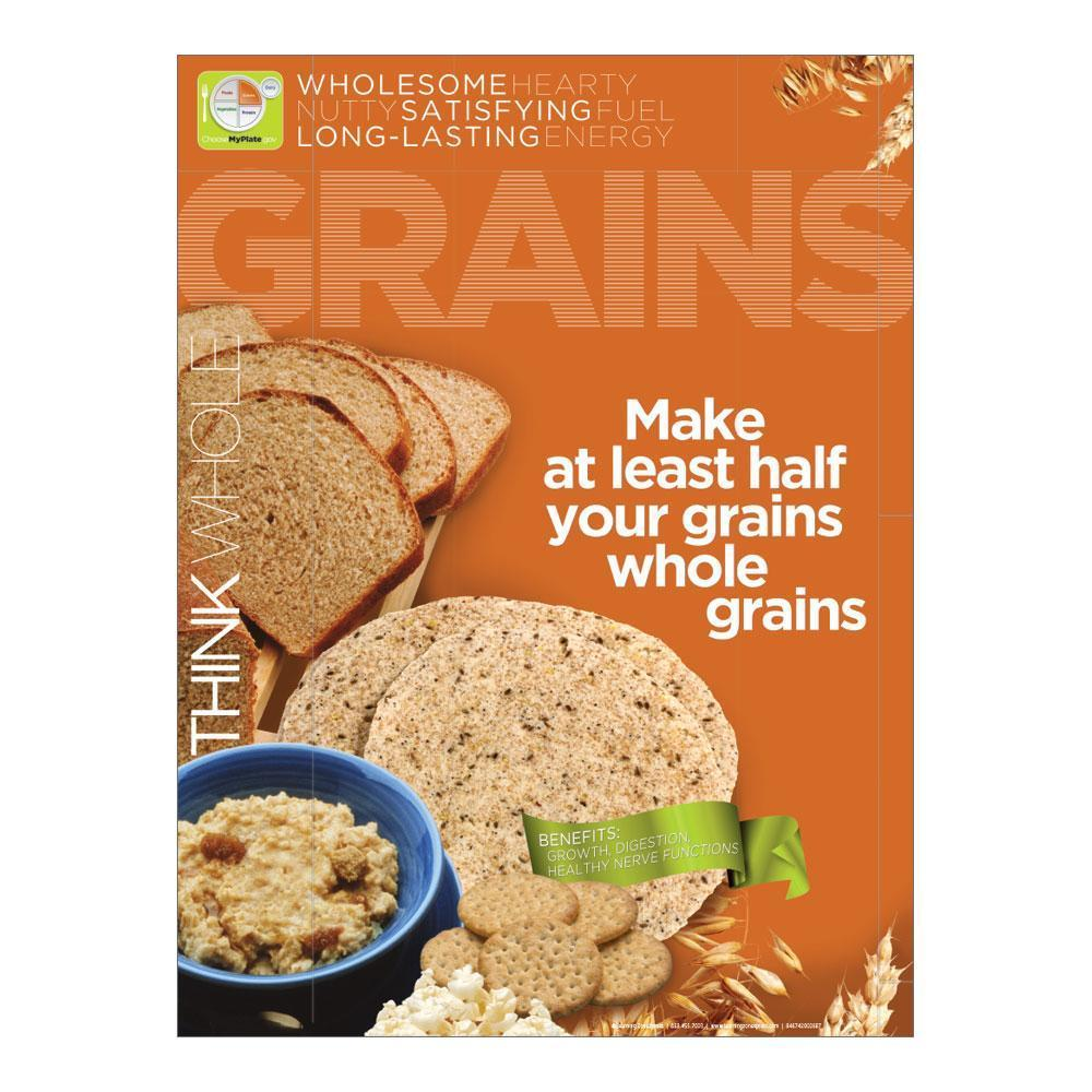 MyPlate Grains Poster