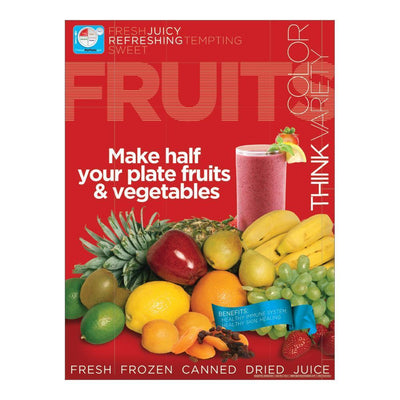 MyPlate Fruits Poster