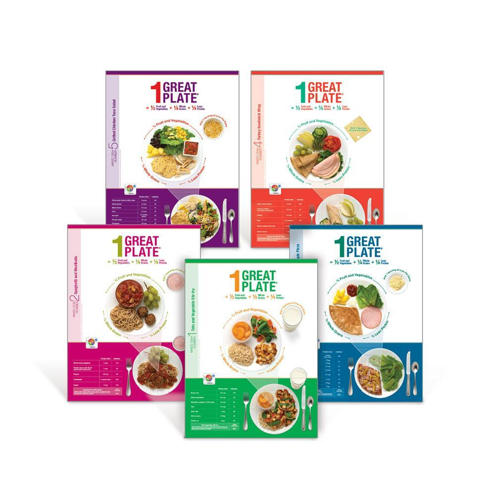 1 Great Plate® Mixed Dish Poster Set