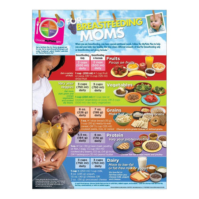 MyPlate for Breastfeeding Moms Poster