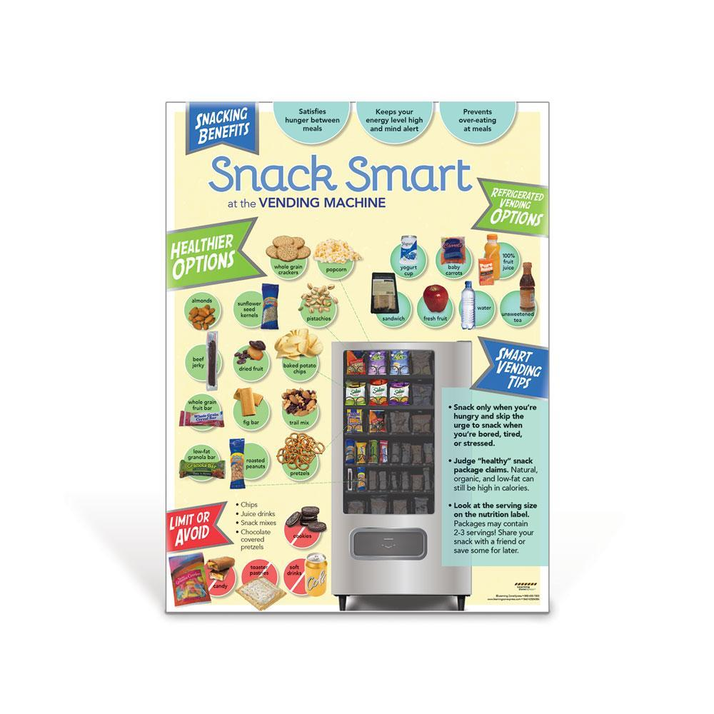 Snack Smart At the Vending Machine Poster