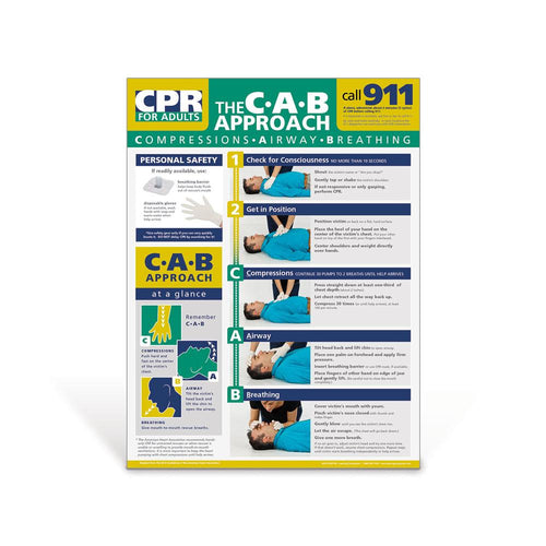 Adult CPR Poster