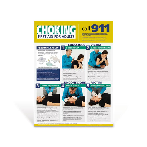 Adult Choking Poster
