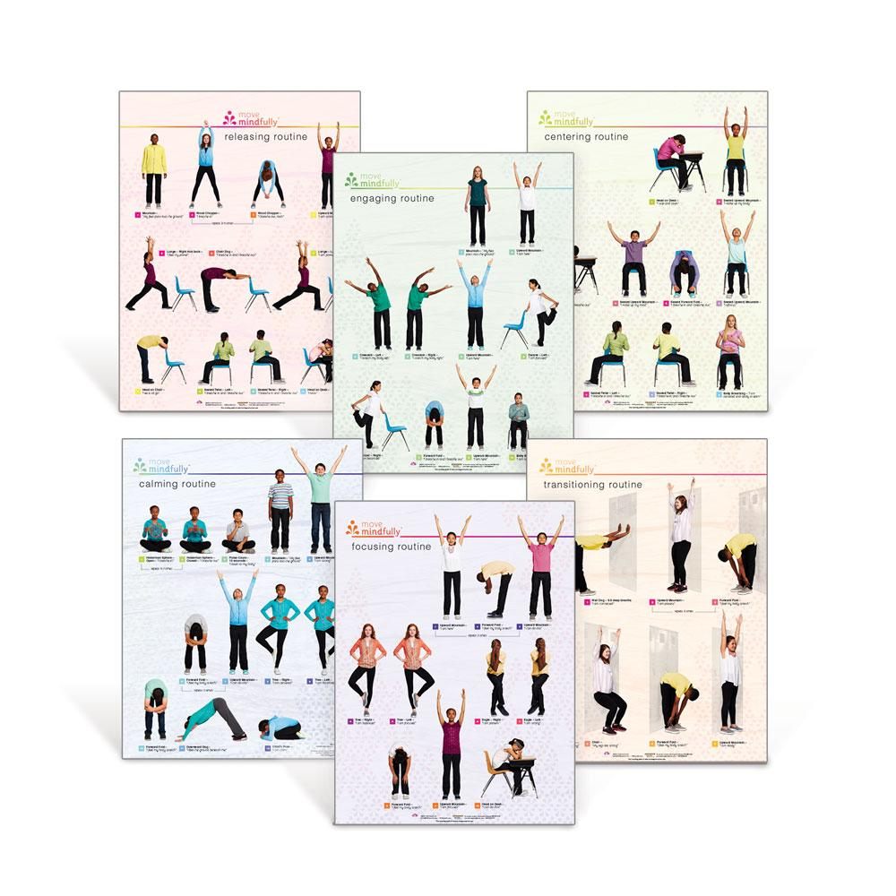 Move Mindfully™ Poster Set