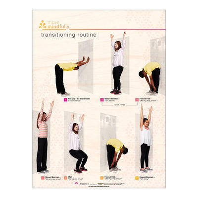 Move Mindfully™ Poster Set | Transitioning