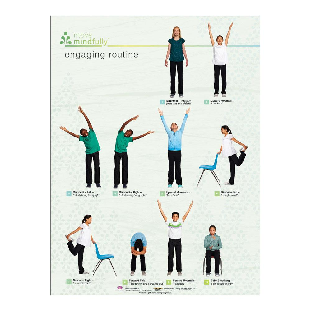 Move Mindfully™ Poster Set | Engaging