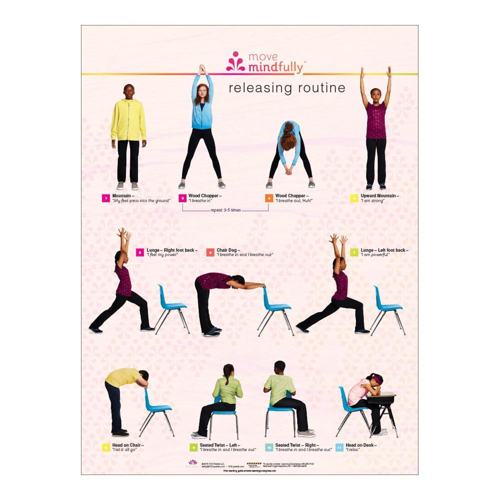 Move Mindfully™ Releasing Poster