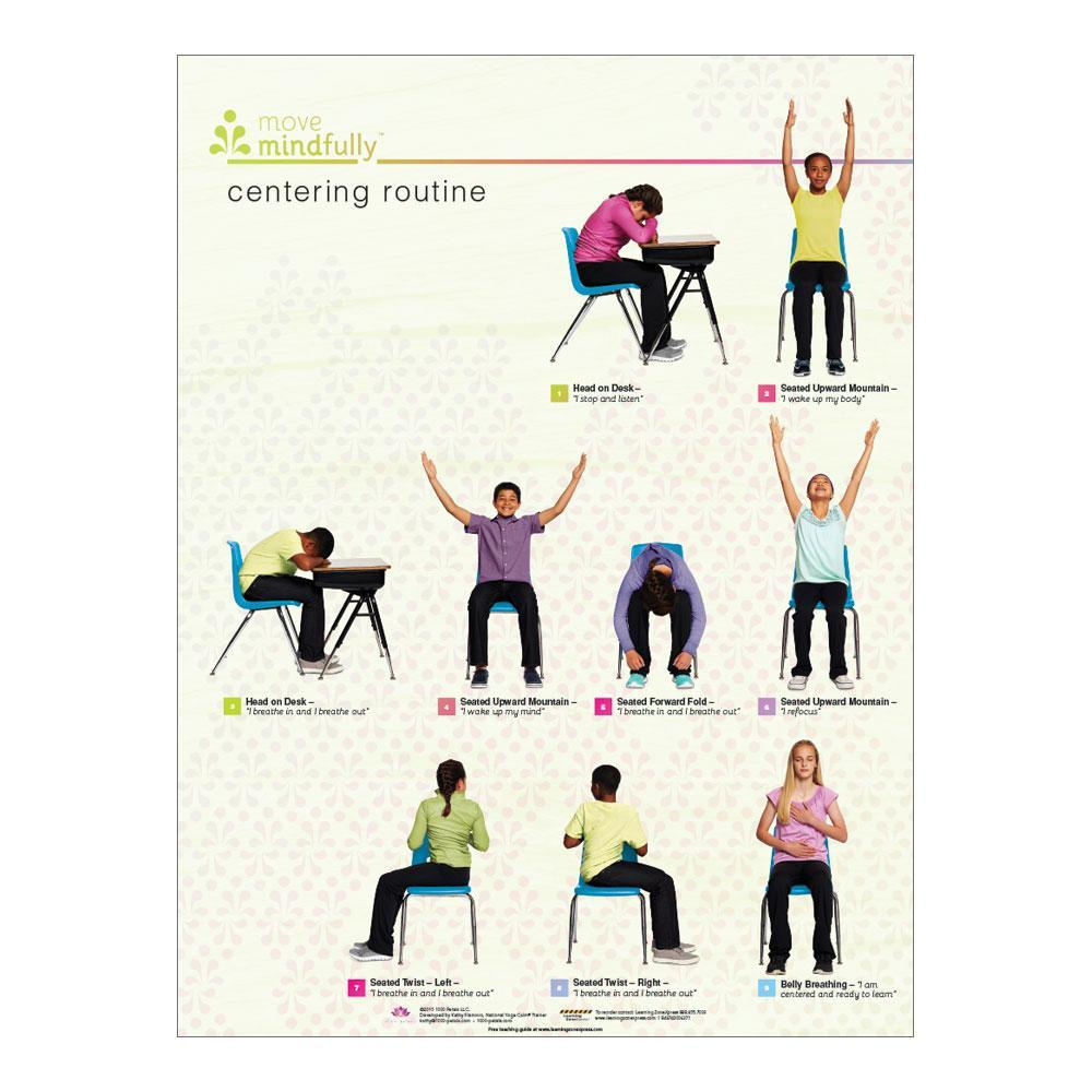 Move Mindfully™ Poster Set | Centering