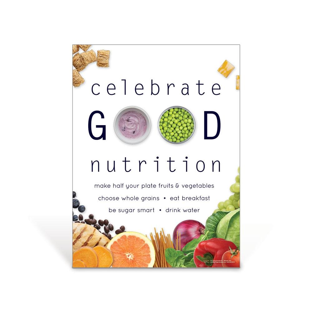 Celebrate Good Nutrition Poster
