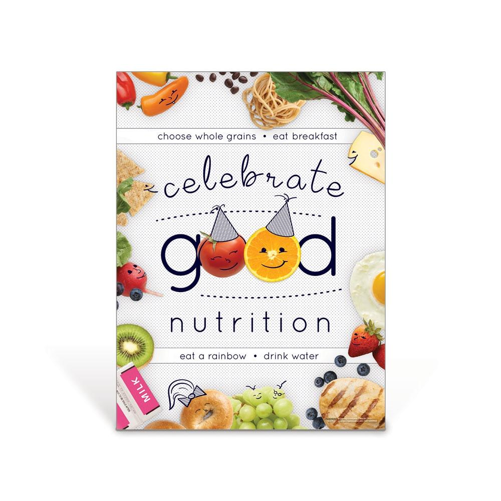 Kids Celebrate Good Nutrition Poster