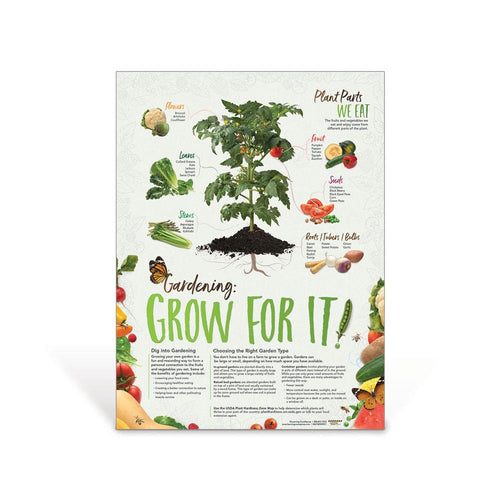 Gardening: Grow for It! Poster