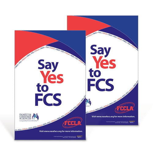 Say Yes to FCS Poster Set