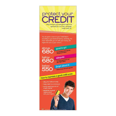Protect your credit poster