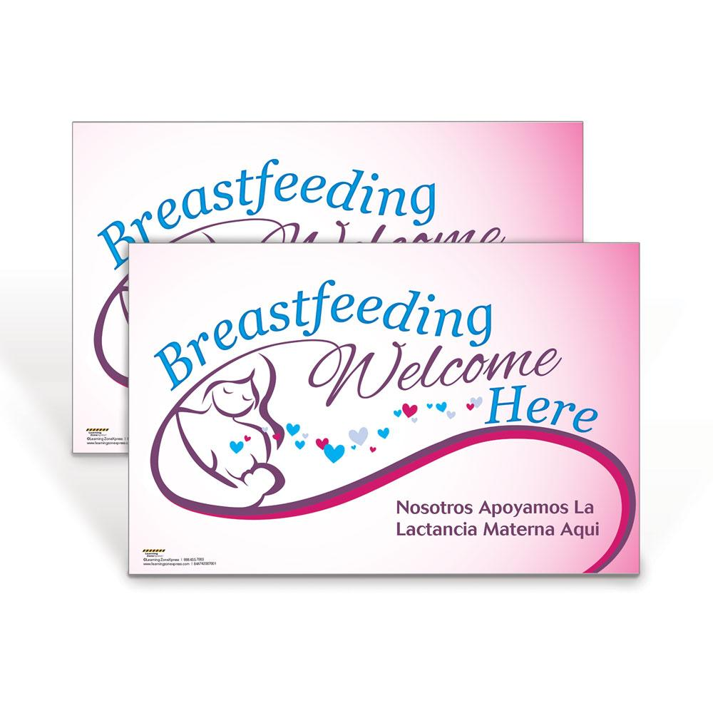 Breastfeeding Welcome Here Poster