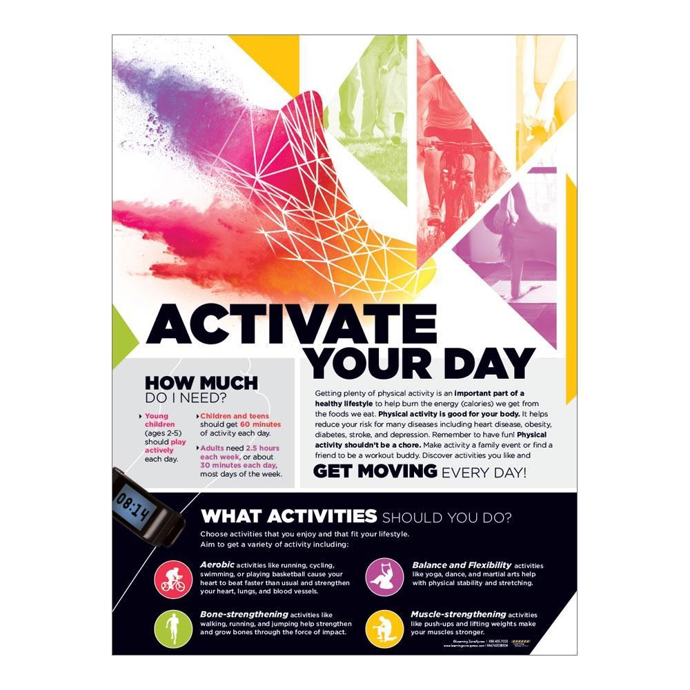 Activate Your Day Poster