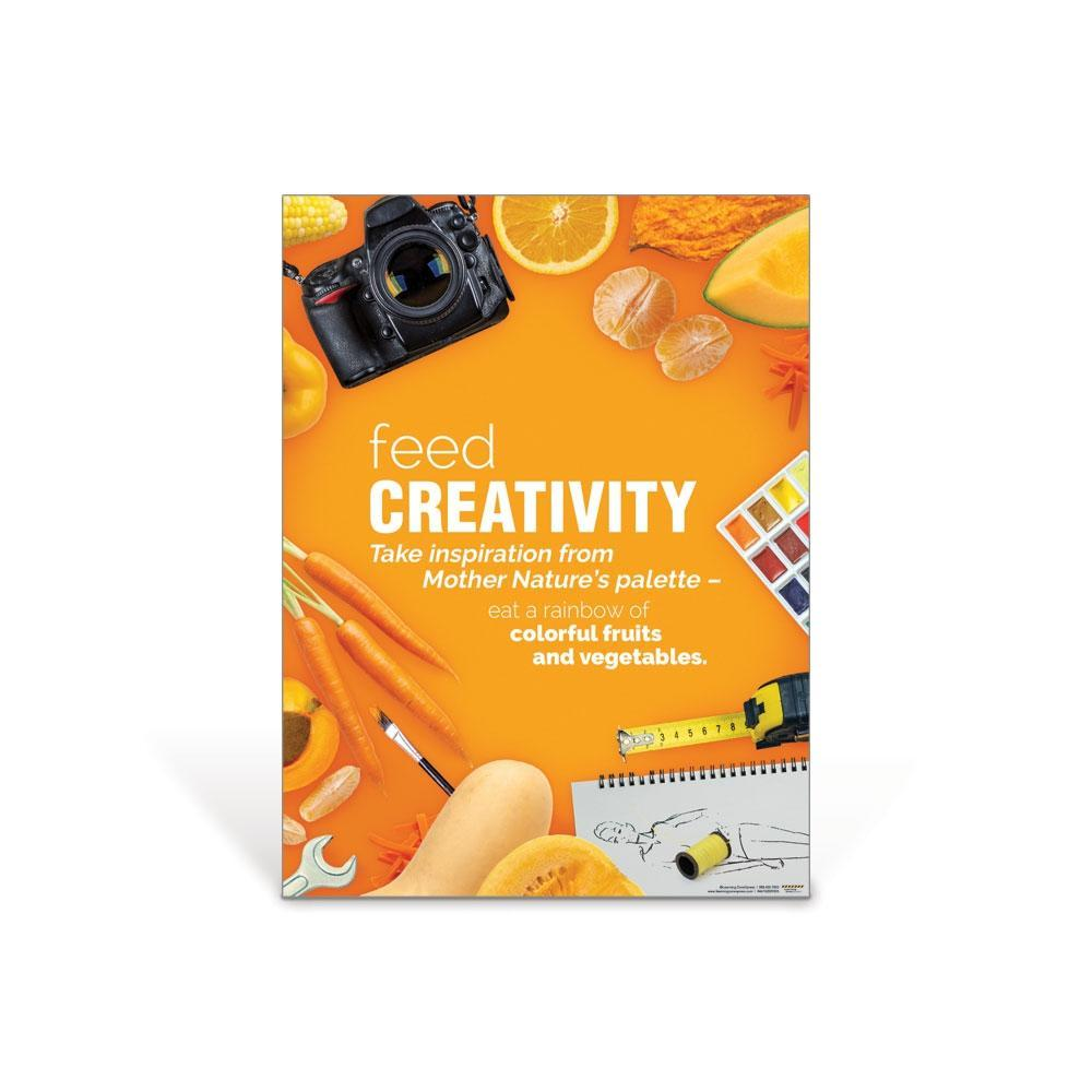 Feed Creativity Poster