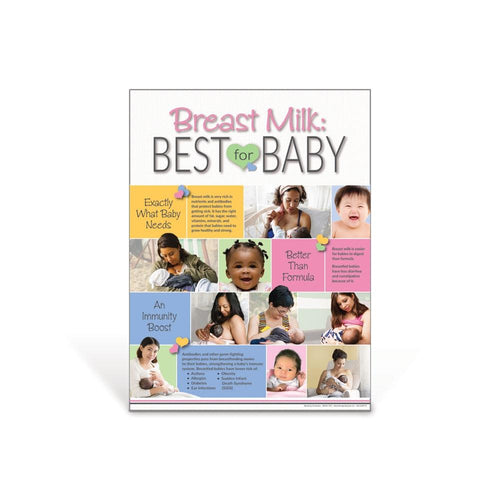 Breast Milk: Best for Baby Poster