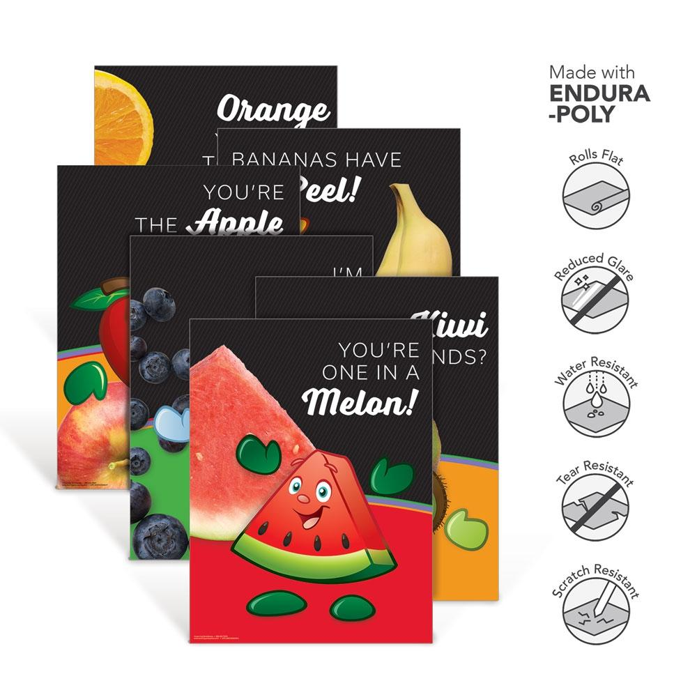Fruit Garden Heroes® Endura-Poly Poster Set