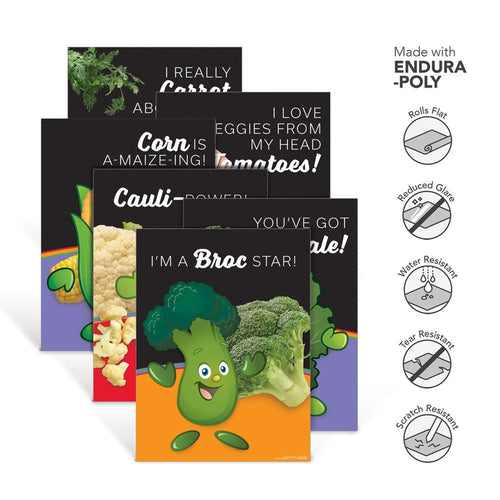 Vegetable Garden Heroes® Endura-Poly Poster Set