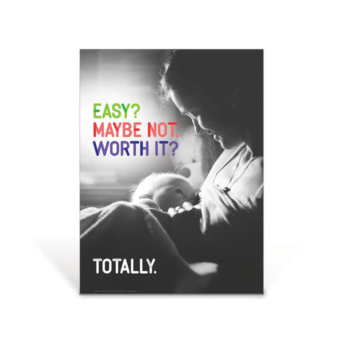 Totally Worth It WIC Breastfeeding Poster