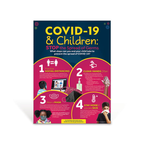COVID-19 and Children Poster