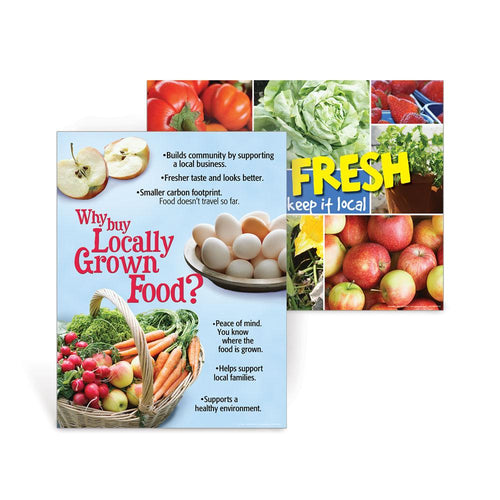 Locally Grown Foods Poster Set