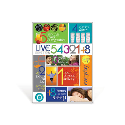 Live 54321+8® Poster
