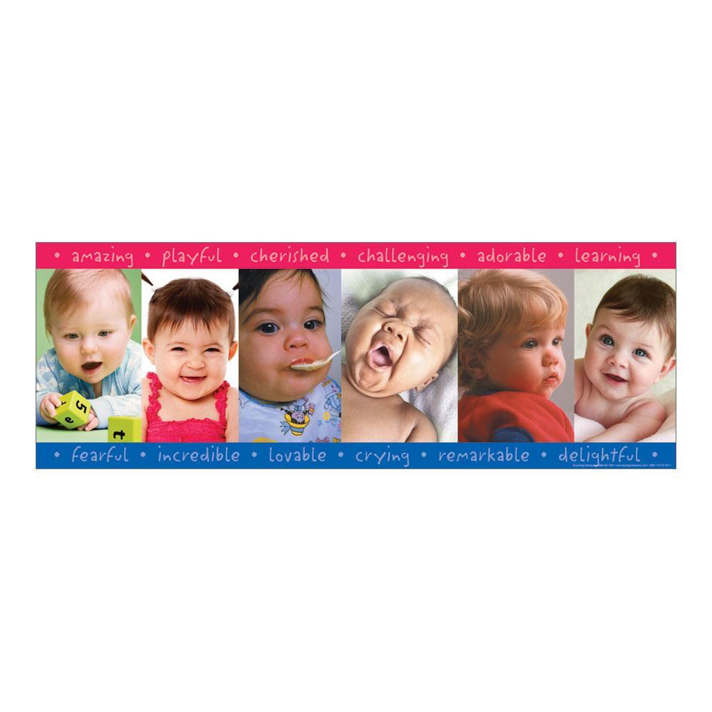 Faces of Babies Poster