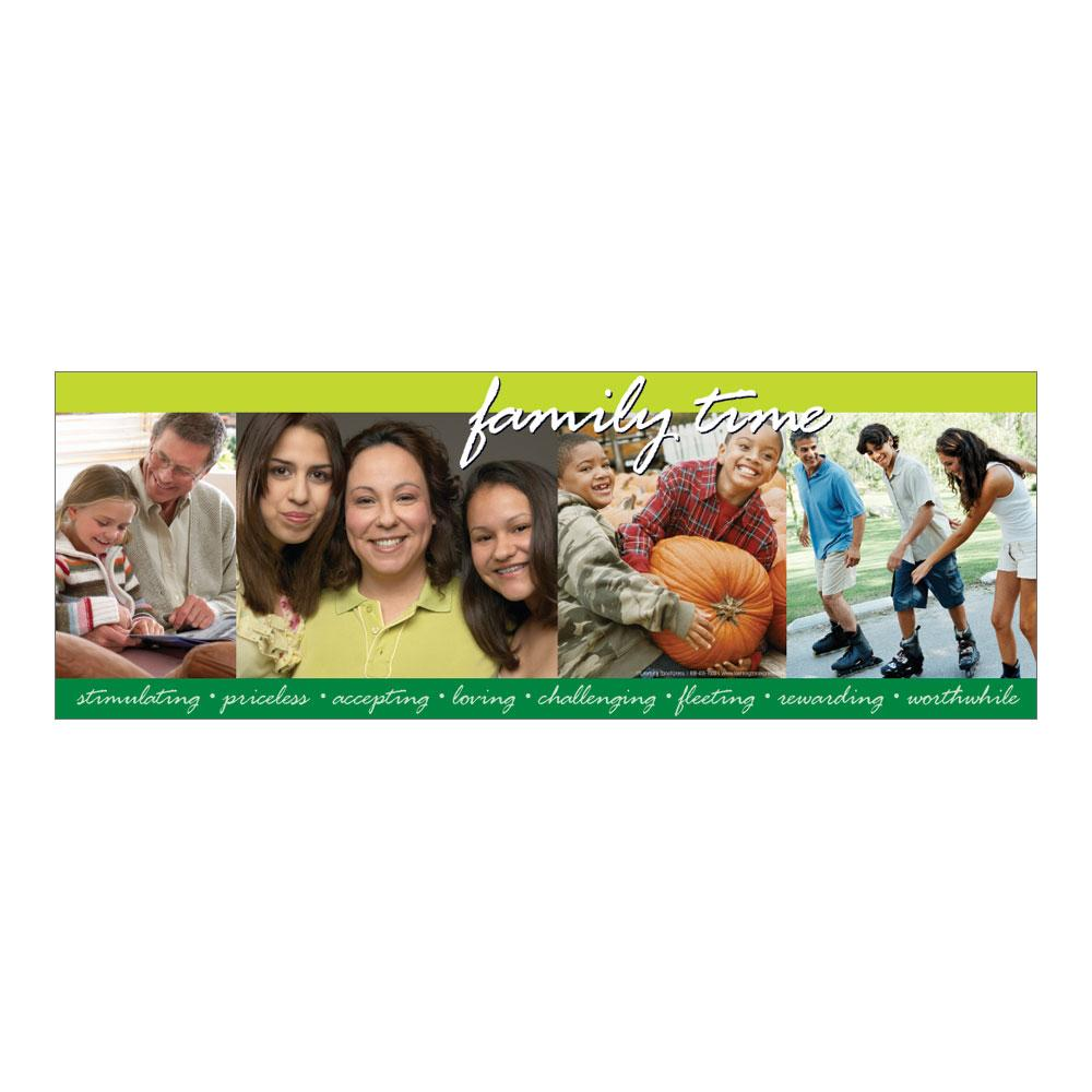 Family togetherness poster
