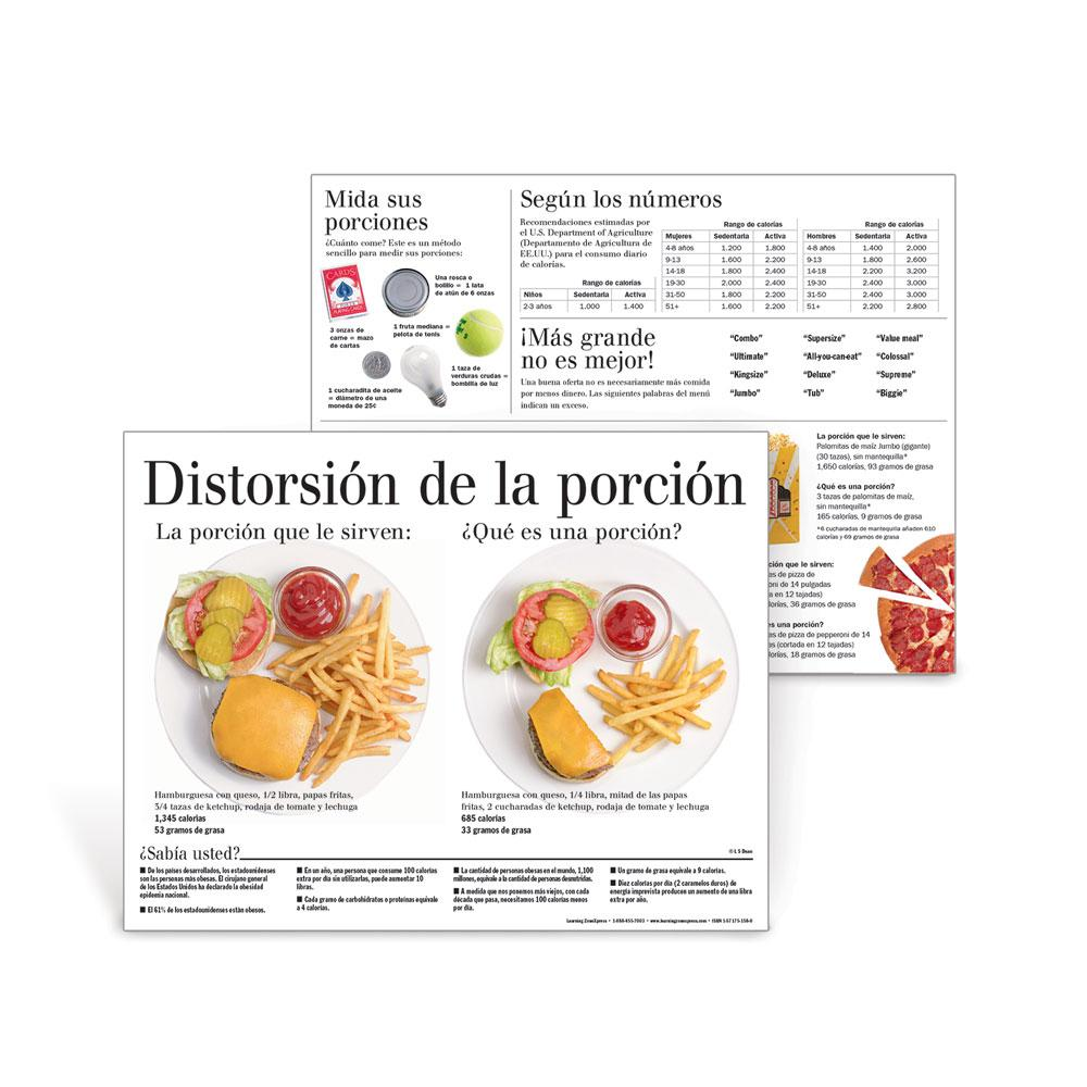 Portion Distortion® Spanish Handouts