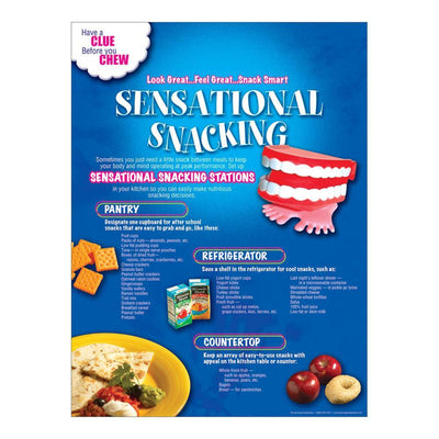 Sensational Snacking Poster