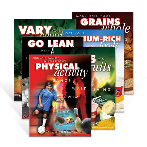 MyPlate Poster Set of Six