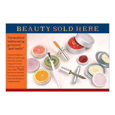 "Beauty Sold Here Poster (23"" x 35"")"