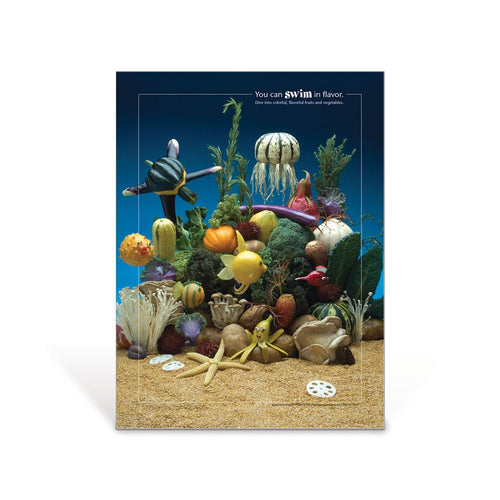 Under the Sea Foodscapes® Poster