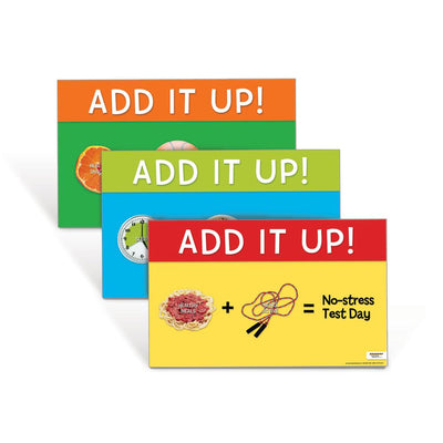 Achieving Peak Performance on Test Day Posters: Add it Up Poster Set