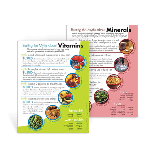 Myth Busters: Vitamins and Minerals Handouts