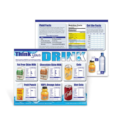 Think Your Drink Handouts