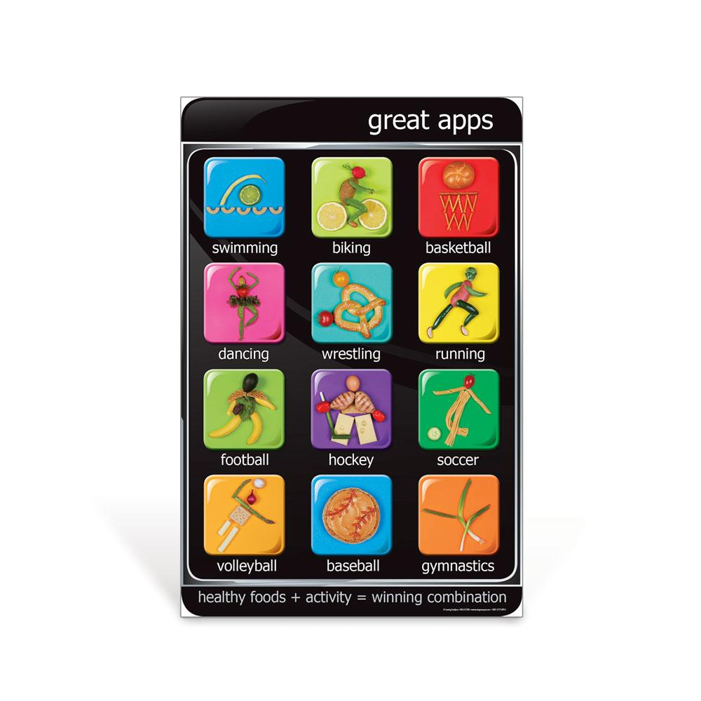 "Great Apps Poster (23"" x 35"")"