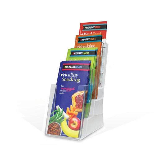 4 Pocket Tri-Fold Brochure Display