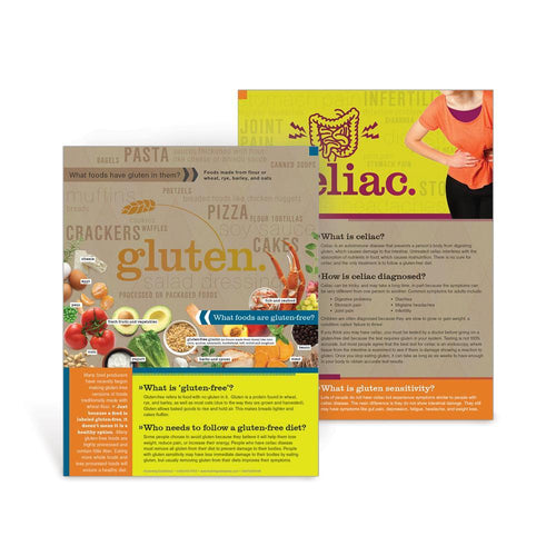 Gluten-Free and Celiac Disease Handouts