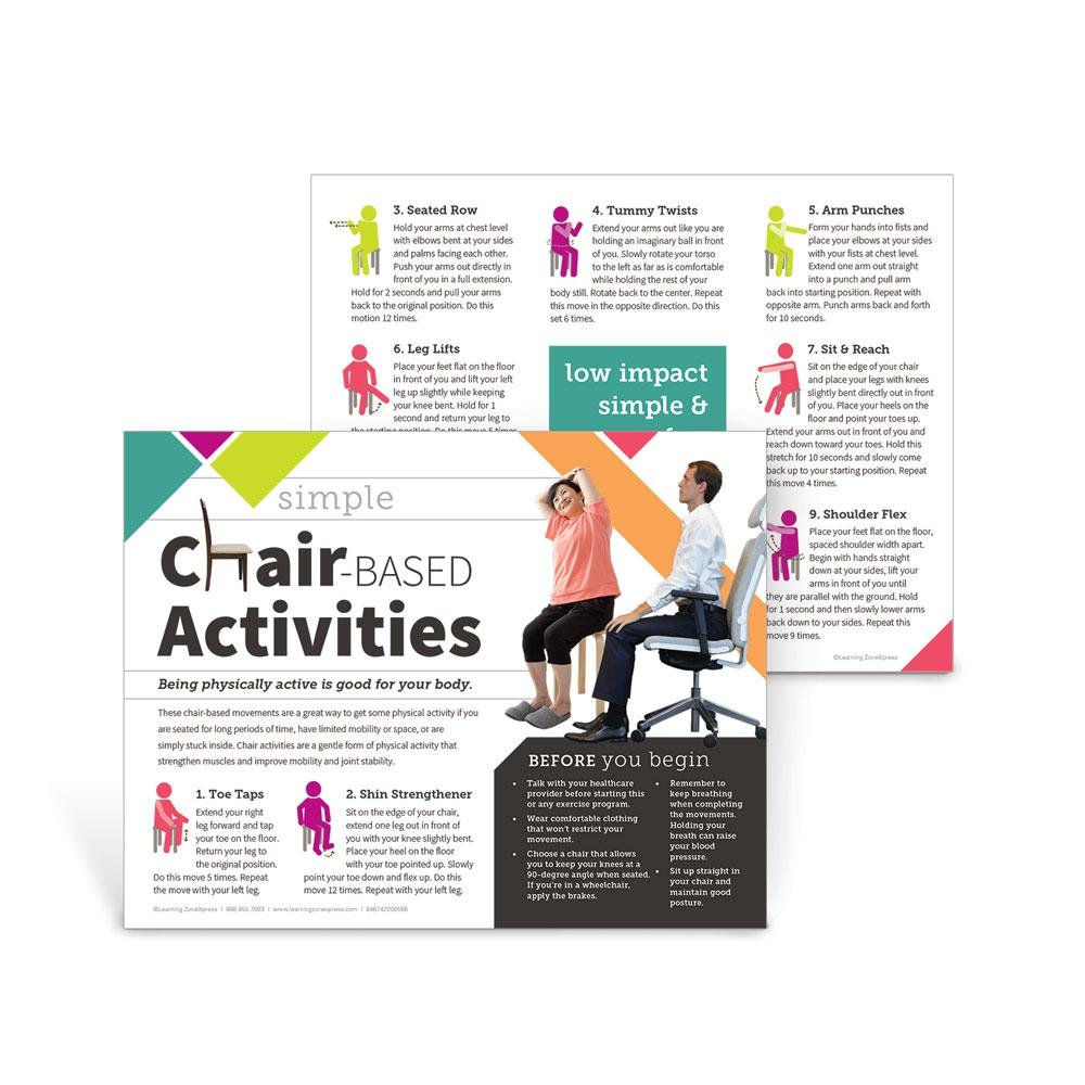Simple Chair-Based Activities Handouts