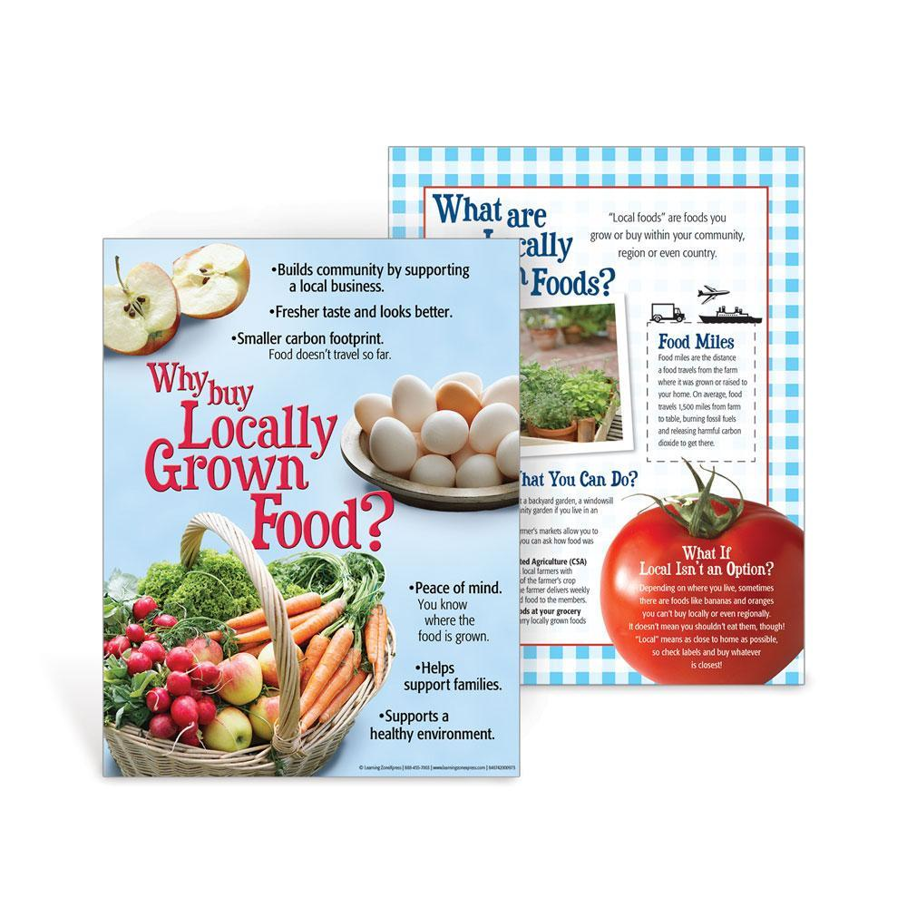 Why Buy Locally Grown Foods Handouts