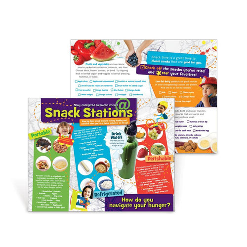 Snack Stations Handouts
