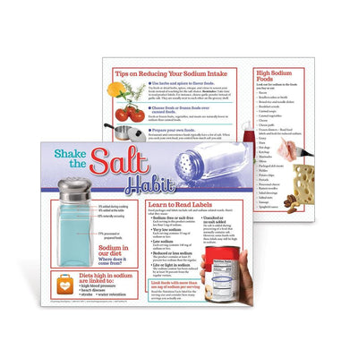 Shake the Salt Habit Handouts