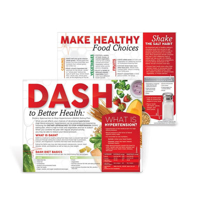 DASH to Better Health: Dietary Approaches to Stop Hypertension Handouts