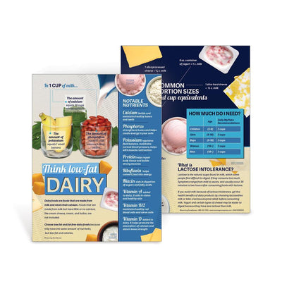 MyPlate Food Group Handouts Set | Dairy