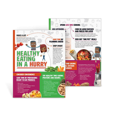 Healthy Eating in a Hurry Handouts